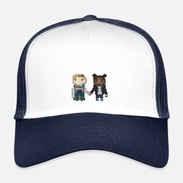 Sprite Doctor who - 13 and Yasmin - Trucker Cap