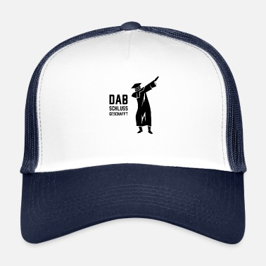 Robe CONCLUSION | High School | Bachelor | Master | dabbing - Trucker Cap