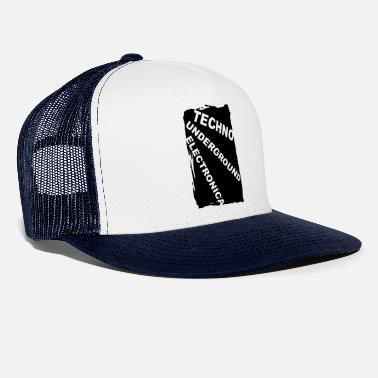 Electronica ELECTRONICA Underground Club Festival Style Bass - Trucker Cap