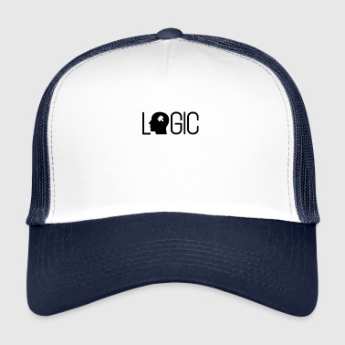 Logic Logic Puzzle Brain Logical Smart - Trucker Cap