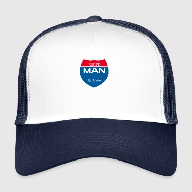 Super Super Man - Trucker Cap