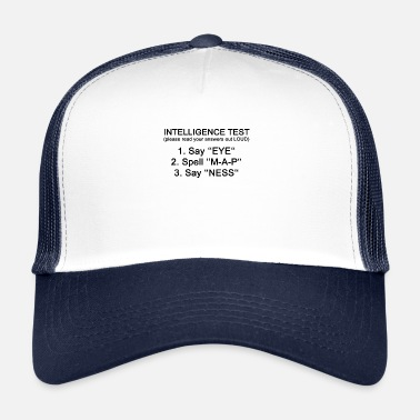 Penis Ultimative Funny Intelligence Penis Testimonial - Trucker Cap