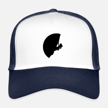 Rock Face Climber in a steep rock face - Trucker Cap