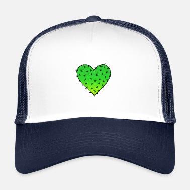 a45aa17a00bcb4 CACTUS HEART HUGH ME VALENTINE'S DAY CACTI LOVE PAIR - Trucker Cap