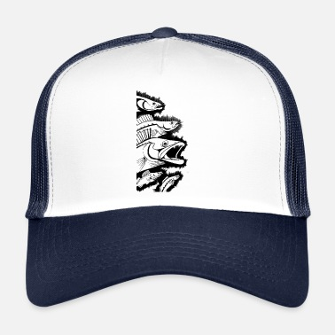 Illustration Zander Illustration Fishing - Anglershirt - Trucker Cap