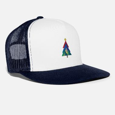 CHRISTMAS TREE | colorful - Trucker Cap