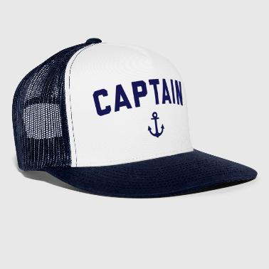 Captain Nautical Quote  - Trucker Cap