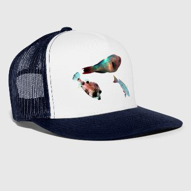 3 fish - Trucker Cap