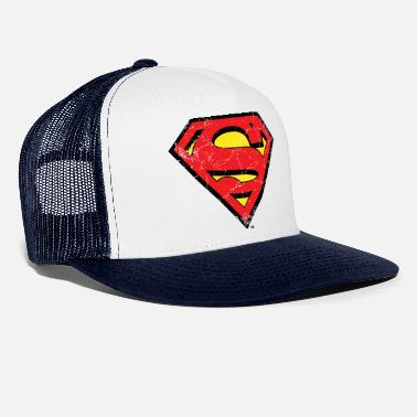 Comics Superman Logo S-Shield vintage Snapback Cap - Trucker cap