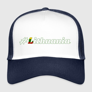 #Lithuania - Trucker Cap