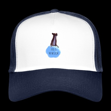The Dog of Wisdom! - Trucker Cap