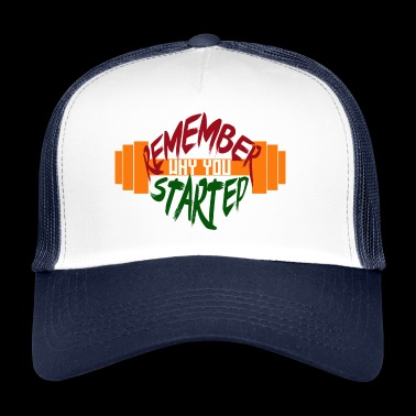 fitness draw - Trucker Cap
