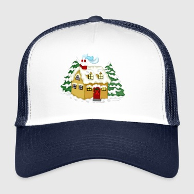 Christmas House - Trucker Cap