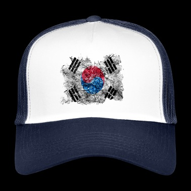 Korea (South) Vintage Vlag - Trucker Cap