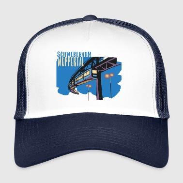 New suspension railway from Wuppertal - Trucker Cap