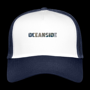 Solar Planet Planet Earth Oceanside Gift - Trucker Cap