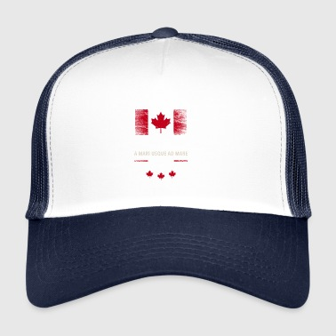 Flag Flag Canada Canada Maple leaf 2 - Trucker Cap