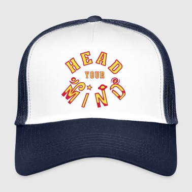 Head Your Mind - Trucker Cap