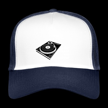 TURNTABLE DJ SHIRT - Trucker Cap
