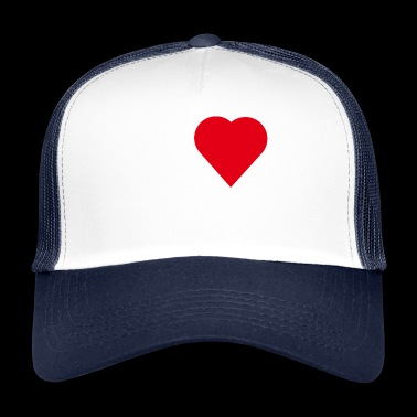 I LOVE TESTOSTERON WHITE - Trucker Cap