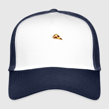 i love pizza white - Trucker Cap