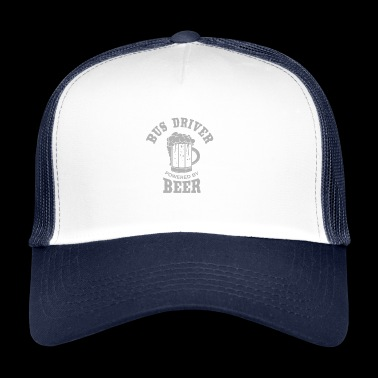 BUS DRIVER powered by BEER - Trucker Cap