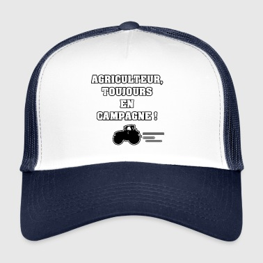 FARMER, ALWAYS IN THE COUNTRYSIDE! - WORDS OF WORDS - Trucker Cap