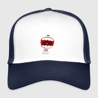 Dentista dientes dental Cuidado Dental - Gorra de camionero