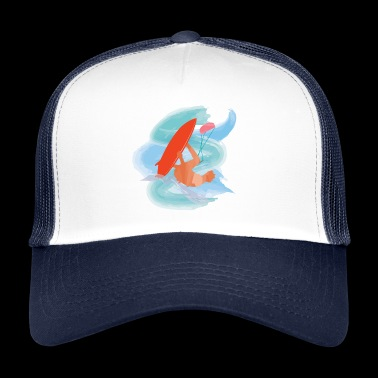 Kiteboard - Trucker Cap