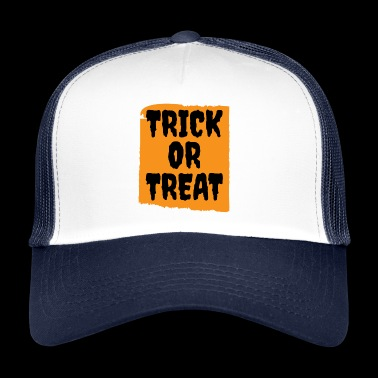 Halloween - Trick or Treat - Trucker Cap