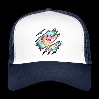 Godteri monster i meg - Trucker Cap