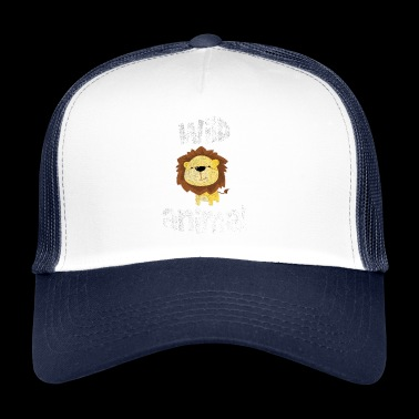 Lion savanna animal love africa gift idea - Trucker Cap
