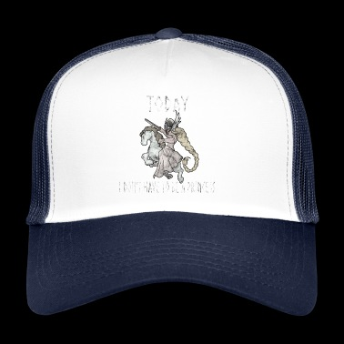 Viking princess Asgard women's day gift idea - Trucker Cap