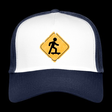 Skateboard. - Trucker Cap