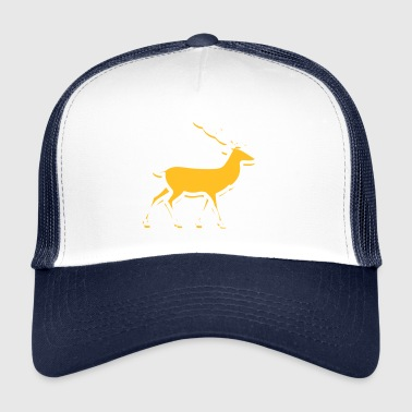 Deer Running in the Forest - Trucker Cap