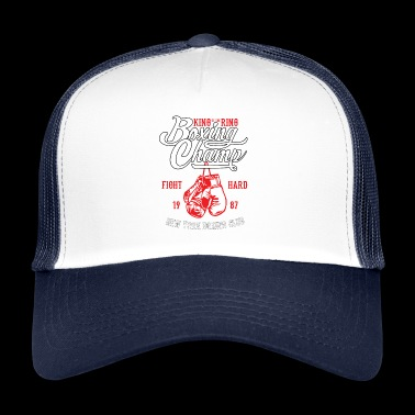 Boxing champ King of the ring - Trucker Cap