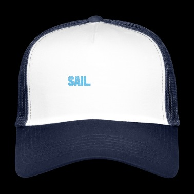 FUNNY SAILOR SEAMAN EAT SLEEP SAIL REPEAT POISON - Trucker Cap