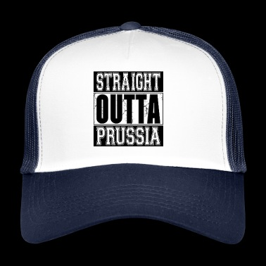 Straight Outta Prusse 001 dessins ronds - Trucker Cap