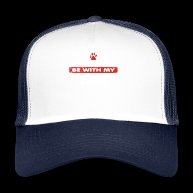 Hund dog love rather bei my MAJORCA RATTER - Trucker Cap