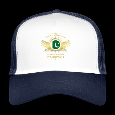 Legends born gift home in PAKISTAN - Trucker Cap