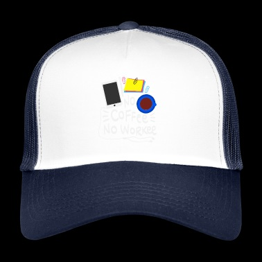 Ingen Coffee Ingen Worker Gift Humor Work - Trucker Cap