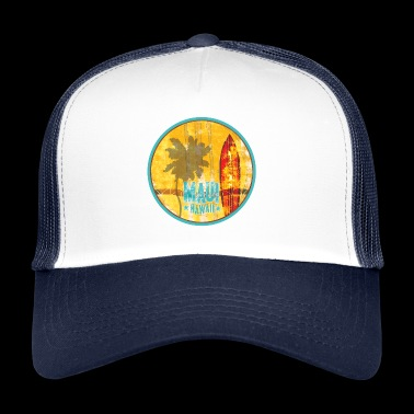 Maui Hawaii - Trucker Cap