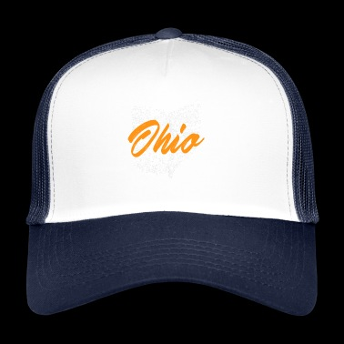 J'aime My Home Ohio - Trucker Cap