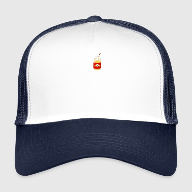 I Love Eggnog Frost Holiday Christmas Beverage - Trucker Cap