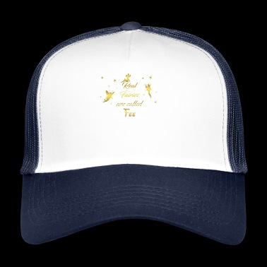 fairy fairies fairy first name fairy - Trucker Cap