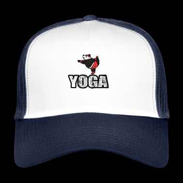 Ballando Yoga Orso Retro New Age - Trucker Cap