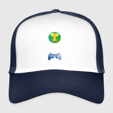 Nivå Olåst 4th Class Gamer Gaming Gift - Trucker Cap