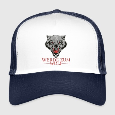 Word Wolf - Trucker Cap