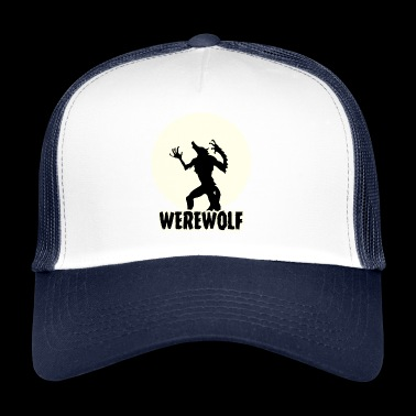 Weerwolf / Halloween: Weerwolf - Trucker Cap