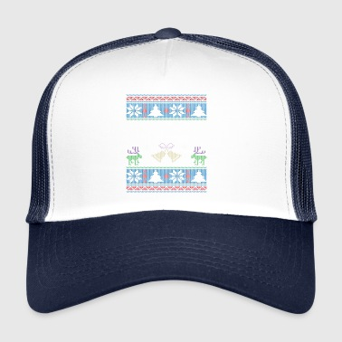 Ugly Morgan Christmas Family Vacation Tshirt - Trucker Cap